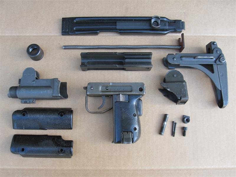 Uzi Receiver Repair Section – Billy Knight