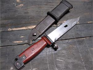 AKM/AK74 Bayonet Used - Polish